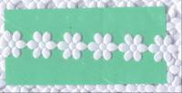 Satin Daisies - White