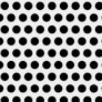 Patterned Vellum - Polka Dots -  White/Black