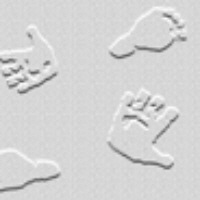 Patterned Vellum - Baby Hands & Feet 2