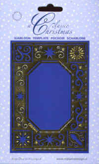 Classic Christmas Embossing/Embroidery Stencil