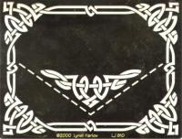 Dreamweaver Brass Stencil - Celtic Border & Corner