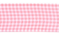 Offray Ribbon - Sheer Mini Check - Red