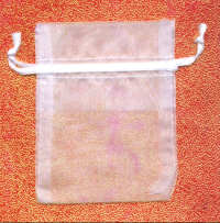Organza Keepsake Bags - White