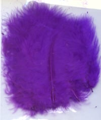 Marabou Feathers - Purple