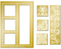 Lay Out Embossing Template Set - Fantasy