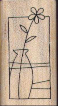 Stampendous - Vase Window