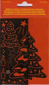 Multi-Stencil - Christmas Tree