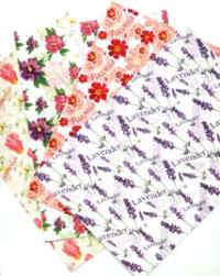A5 Glitter Card Assortment - Floral
