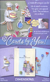 Inkadinkado Dimensions Cards by You Silly Friends Card Kit