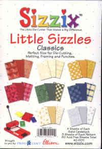 Sizzix Little Sizzles Classics Paper Pad