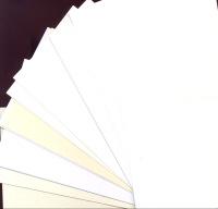 Single Fold Card Blanks - Mini - White & Cream