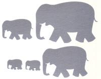 Light Arted Designs Laser Cut - Elephants