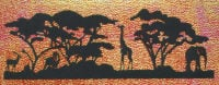 Light Arted Designs - Silhouette - African Landscape