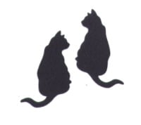 Light Arted Designs - Black Cats