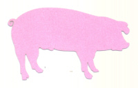 Light Arted Designs Laser Cut - Pig