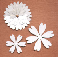 Light Arted Designs Laser Cut - Heart Daisies