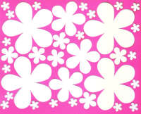 Light Arted Designs Laser Cut - Retro Daisies