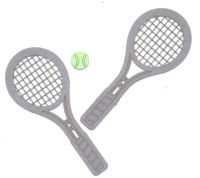 Light Arted Designs Laser Cut - Tennis