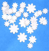 Light Arted Designs - Tiny White Flowers