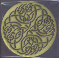 Heritage Handcrafts Celtic Circle Knot Brass Embossing Stencil