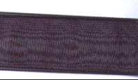 Organza Ribbon - Black - 25mm