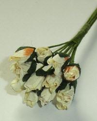 Parchment Rosebuds - Cream