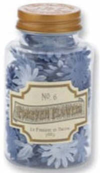 Prima Forever Flowers No. 6 - Copper Top Daisies - Blue