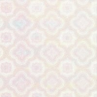 Holographic Paper - Illusion Flowers - White