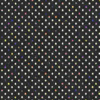 Holographic Paper - Black Polka Dot