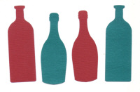 Light Arted Designs - Wine Bottles