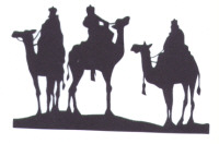 Light Arted Designs - Silhouette - Wise Men