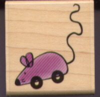 Stampabilities Toy Mouse Rubber Stamp