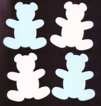 Light Arted Designs Laser Cut - Teddy Bears