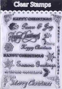 Christmas Clear Stamp Set - Christmas Greetings