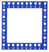 Light Arted Designs - Card Frame - Tulip