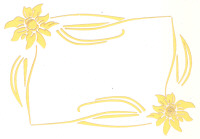 Light Arted Designs - Card Panel - Floral