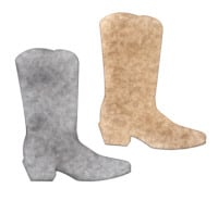 Light Arted Designs - Cowboy Boots