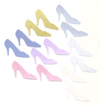 Light Arted Designs - Fashion - Shoes - Glitter Pastel