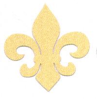 Light Arted Designs - Fleur de Lys - Gold Stardream