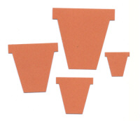 Light Arted Designs - Flowerpots