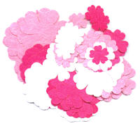 Light Arted Designs - Flowers - 5 Petal - Pinks