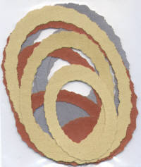 Light Arted Designs - Frames - Deckle Oval - Metals