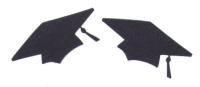 Light Arted Designs - Graduation Caps (Mortar Boards)