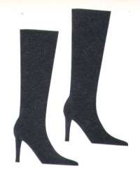 Light Arted Designs - High Boot - Black