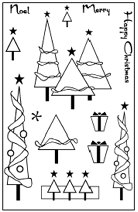 Woodware Clear Magic - Christmas Trees