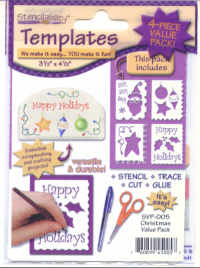 American Traditional Templates - Christmas Value pack