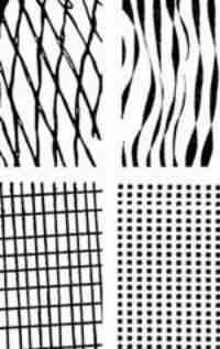 Clear Stamp Set - Block Patterns 3