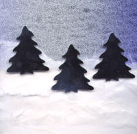 Light Arted Designs - Pine Trees - Silver