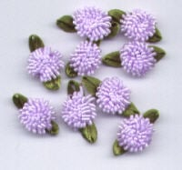 Ribbon Carnations - Lilac