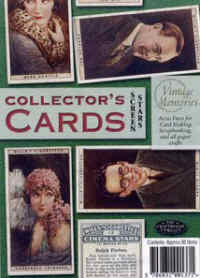 Collector's Cards - Screen Stars